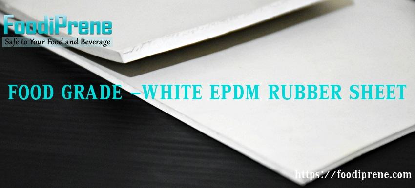 แผ่นยาง EPDM สีขาวฟู้ดเกรด